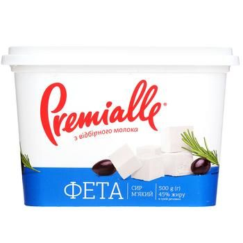 Premialle Feta Cheese 45% 500g - buy, prices for Furshet - image 2