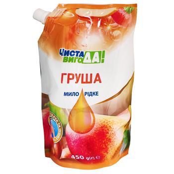 Жидкое мыло Чистая ВыгоДА! с ароматом груши 450мл - купить, цены на Varus - фото 1