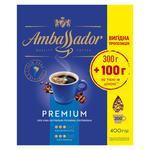 Кофе Ambassador Premium растворимый 400г