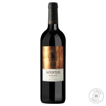 Вино Шато Апертус Марго 14% червоне сухе 0.75л - купити, ціни на Фуршет - фото 1