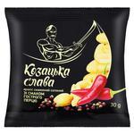 Kozatska Slava Salted Peanuts with Hot Pepper Flavor 30g