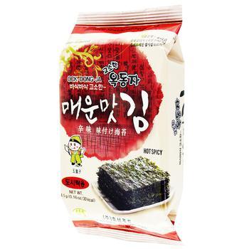 Ock Dong Ja Spicy Nori Snack 4,5g