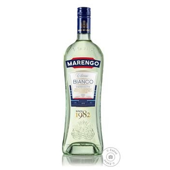 Marengo Bianco Classic white sweet dessert vermouth 16% 1l - buy, prices for Furshet - image 1