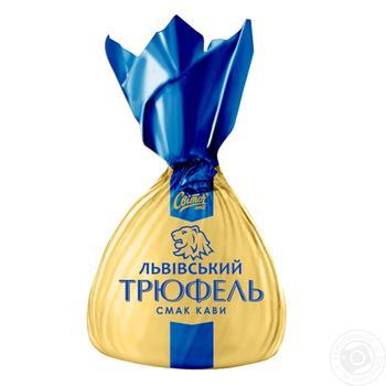 Конфеты СВІТОЧ® Львовский Трюфель вкус Кофе весовые