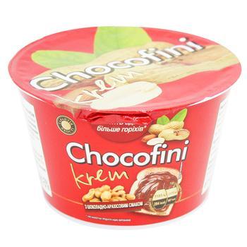 Кондитерська маса Chocofini з шоколадно-арахісовим смаком 200г