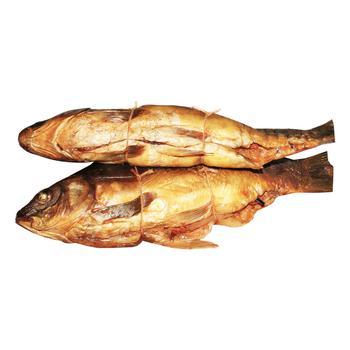 Карп горячего копчения с овощной начинкой - купить, цены на Novus - фото 2