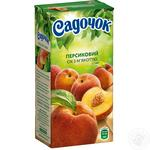 Sadochok peach juice 0,5l