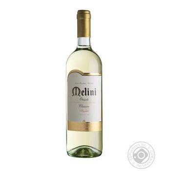 Вино Melini Orvieto Classico біле сухе 12,5% 0,75л - купити, ціни на МегаМаркет - фото 1