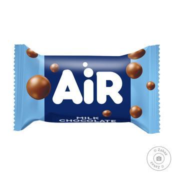 Конфеты Millennium Air из молочного пористого шоколада с молочной начинкой весовые