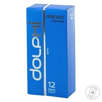 Презервативы Dolphi LUX Delicate 12шт