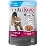 Food Nutrilove salmon in sauce for cats 85g