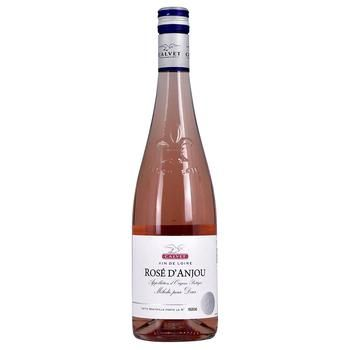 Calvet Rose d'Anjou Pink Semi-Sweet Wine 10,5% 0,75l - buy, prices for CityMarket - photo 1