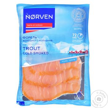 Риба Форель Norven х/к 120 г нар. т/у - купить, цены на Таврия В - фото 1