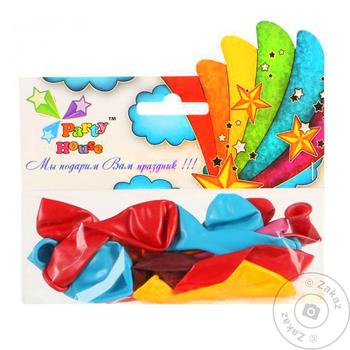 Party House Assorted Air Balloon 15pc - buy, prices for CityMarket - photo 1
