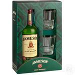 Виски Jameson 40% 0,7л + 2бокала