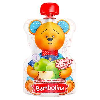 Bambolina Apple Puree 90g - buy, prices for CityMarket - photo 2