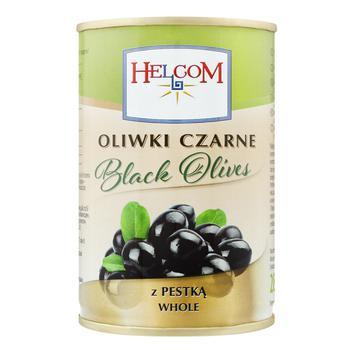 Маслины Helcom с косточкой 0,3л