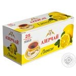 Azercay Black Tea with lemon 25pcs*1,8g