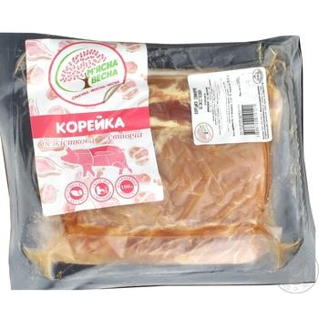 Корейка свиная М'ясна Весна б/к вакуум от 2000г