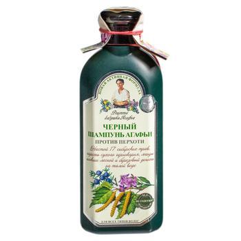 Retsepty Babushki Agafji Black Anti-dandruff Shampoo For All Hair Types 350ml