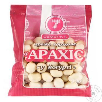 Драже Семерка Арахис в йогурте 230г - купить, цены на Таврия В - фото 1