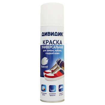 Фарба для взуття Дівідік універсальний 250мл - купити, ціни на МегаМаркет - фото 1