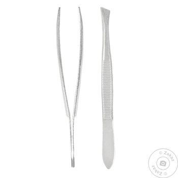 Пинцет косметический Titania Золингер 1060/В согнутый - купить, цены на Таврия В - фото 1