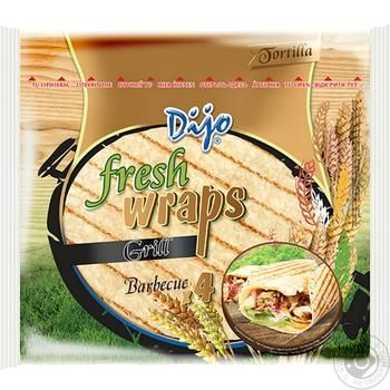 Dijo Grill Wheat Tortilia 250g - buy, prices for MegaMarket - image 1
