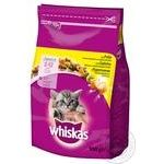 Food Whiskas with chicken dry for kittens 950g