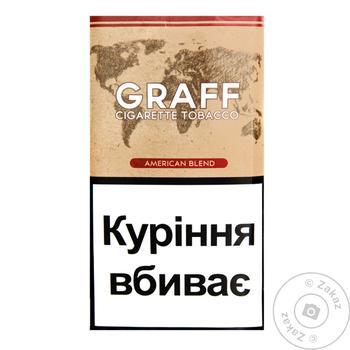 Тютюн Graff American Blend 30г - купити, ціни на ЕКО Маркет - фото 1