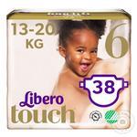 Libero Touch 6 diapers 13-20kg 38pcs