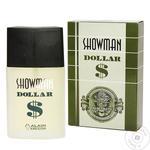 Вода туалетная Alain Aregon Showman Dollar мужская 90мл