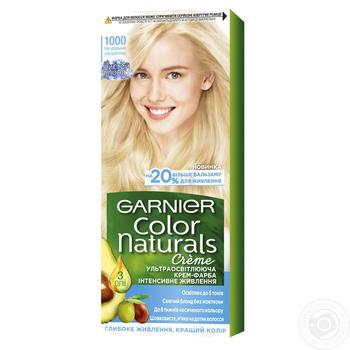 Крем-краска Garnier для волос ледяной блонд