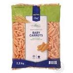 Морковь METRO Chef Baby молодая замороженная 2,5кг