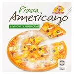 Пицца Мушкетер Американо с курицей и ананасами 400г