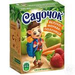 Сік Садочок яблучно-моркв'яно-полуничний 0,2л