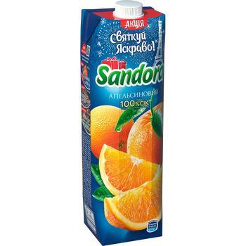 Сік Sandora апельсиновий 950мл