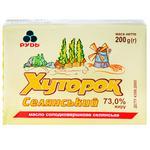 Rud Khutorok Selyanskiy Sweet Cream Butter 73% 200g
