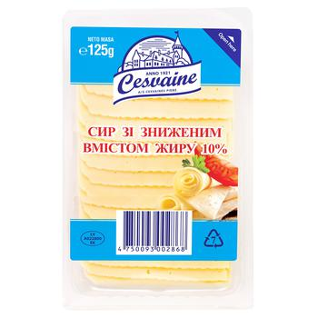 Cesvaine Cheese with a Reduced Fat Content 10% 125g