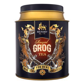 Чай чорний Richard  Royal Grog 80г
