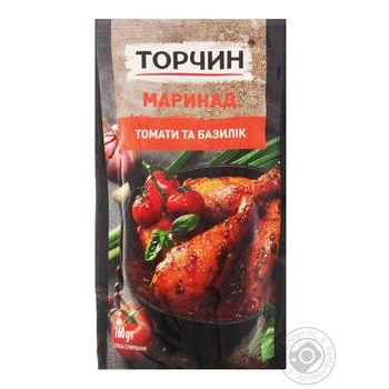 Torchin tomato and basil marinade 160g