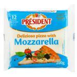 Сир плавлений President для піци 200г