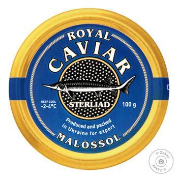 Икра черная Caviar Malossol стерлядь 100г - купить, цены на Восторг - фото 1