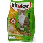 Food Kitekat with chicken dry for cats 400g soft packing