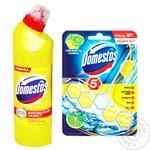 Засіб Domestos з ароматом лимонної свіжості 1л