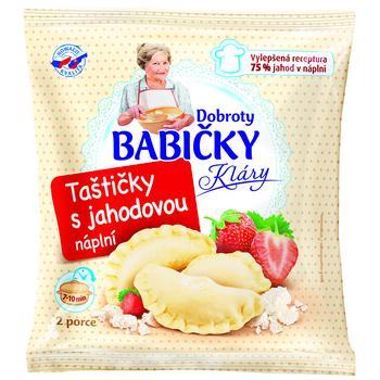 Вареники Dobroty Babicky Klary с клубничной начинкой 350г