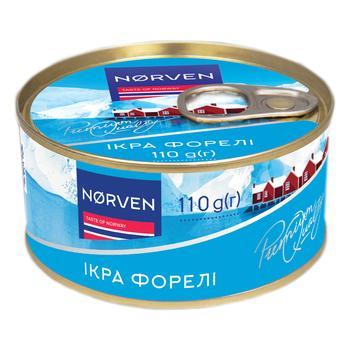 Икра лососевая Norven форели зернистая 120г - купить, цены на Восторг - фото 2