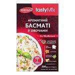 Рис Басмати Жменька с овощами 200г
