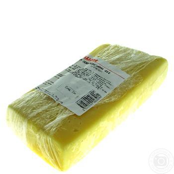 Сыр Пошехонский твердый 45% весовой - купить, цены на Ашан - фото 2
