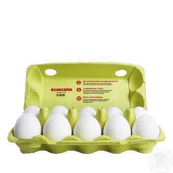Яйца куриные Ясенсвит С1 10шт - купить, цены на Novus - фото 3